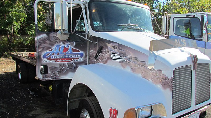 Al's Towing & Storage Flatbed Towing Services